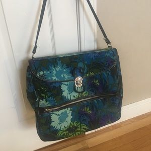Handbags - 1960's Mod  Floral Travel Bag